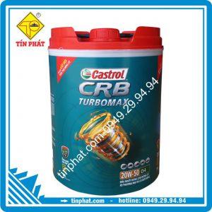 Nhớt Castrol CRB Turbomax 20W50 18L