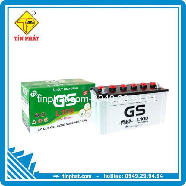 Ắc Quy GS L100 (12V-100AH)