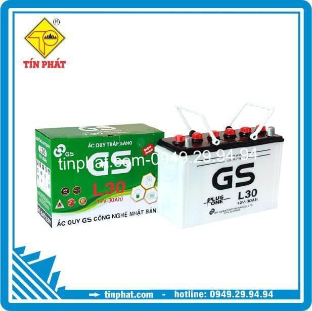 Ắc Quy GS L30 (12V/30AH)