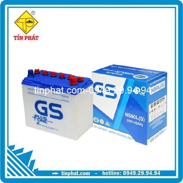 Ắc Quy GS NS60L(S) (12V - 45AH)