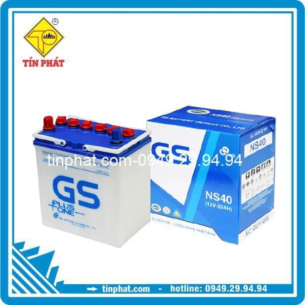 Ắc Quy GS NS40 (12V - 32AH)