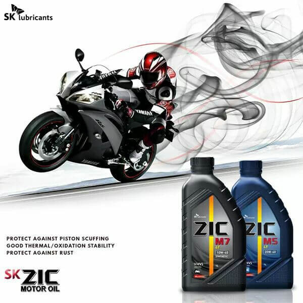 dầu nhớt phù hợp cho xe máy sk zic