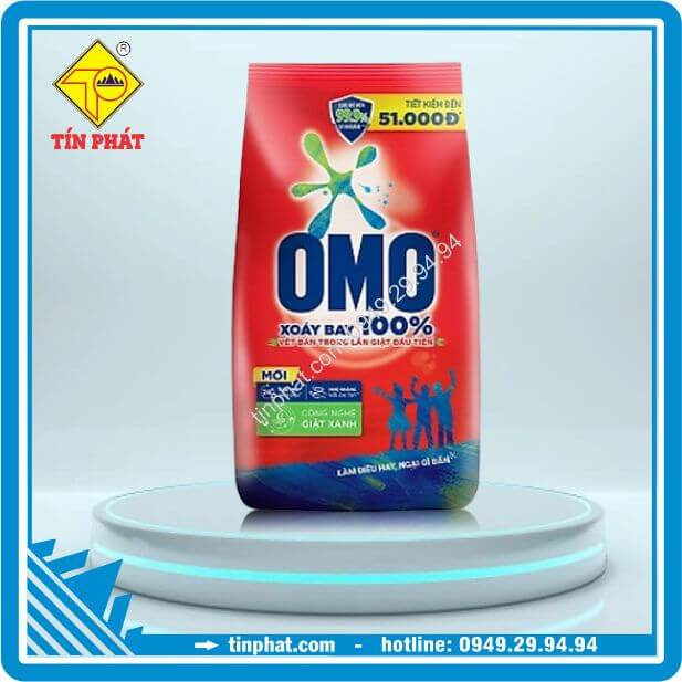 Bột Giặt OMO Đỏ (100g-400g-800g-1.2kg-3kg-4.5kg-6kg)