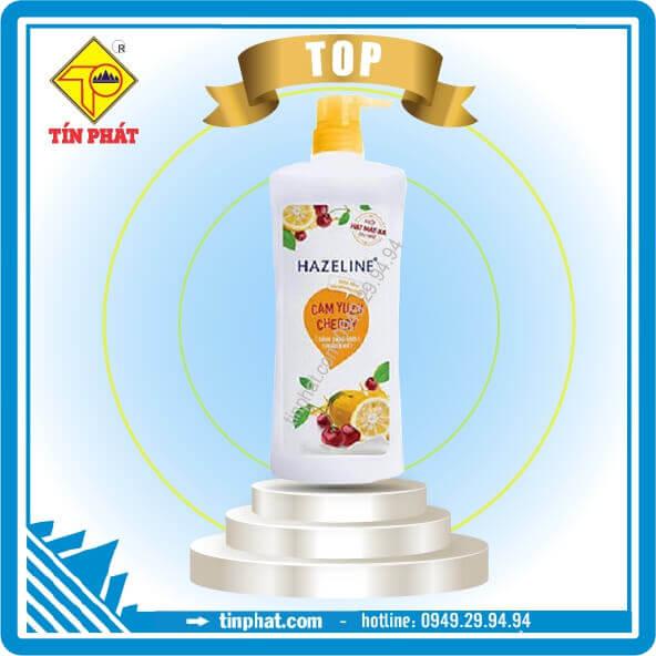 Sữa tắm Hazeline Cam YUZU Cherry (670g-900g)
