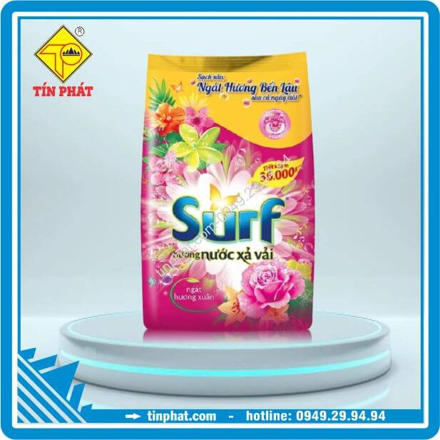 Bột Giặt SURF Ngát Hương Xuân (400g-800g-2kg-5.8kg-6.8kg)