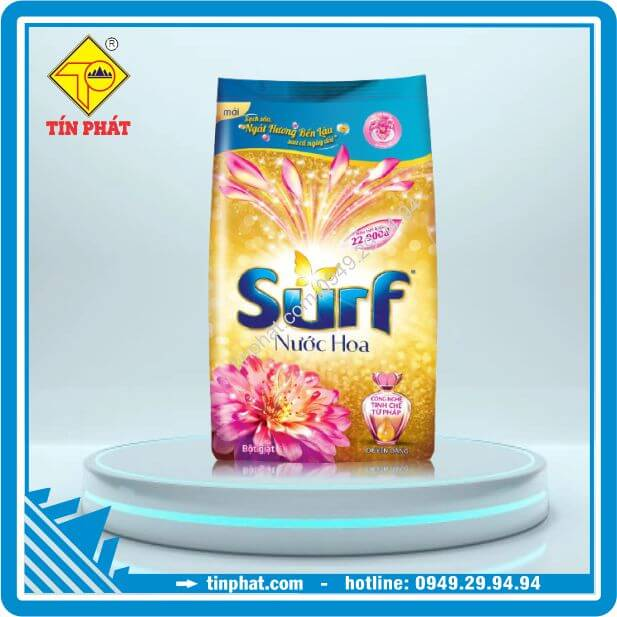 Bột Giặt Surf Nước Hoa Gold Duyên Dáng (720g-5.5kg)