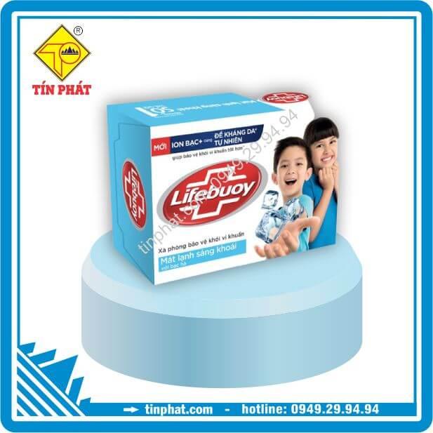 Xà Bông Cục Diệt Khuẩn Lifebuoy Mát Lạnh Sảng Khoái (90g-125g)