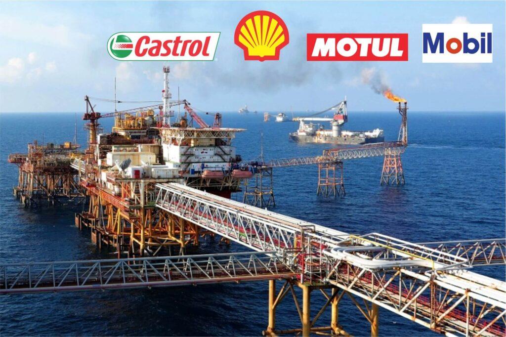 Các thương hiệu lớn trong ngành sản xuất dầu nhớt
